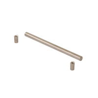 Ручка-скоба 128 мм., металл, никель матовый