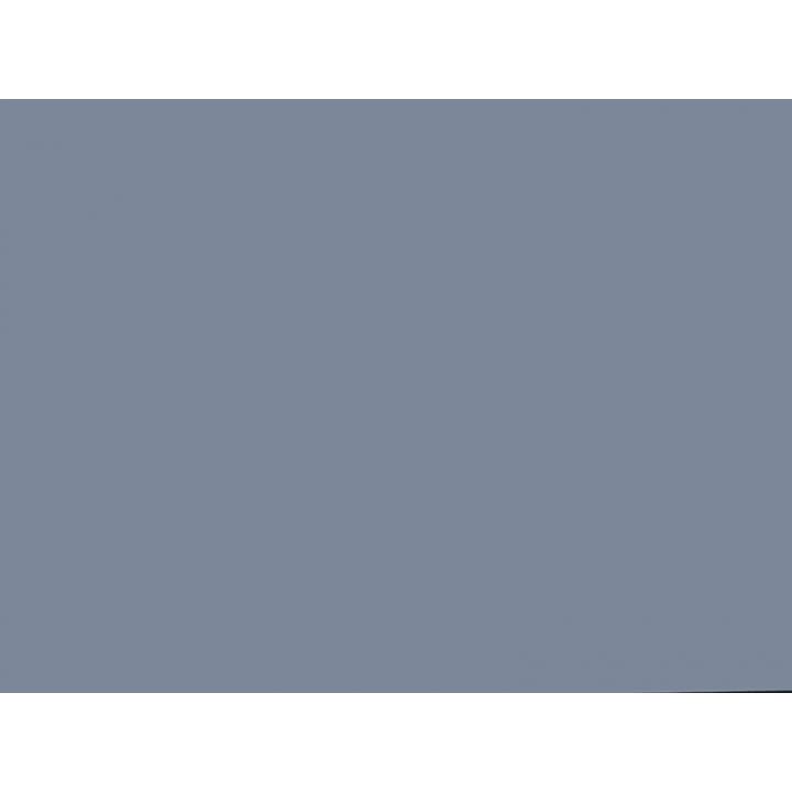 Плита AGT МДФ 1220*18*2800 мм, односторонняя, индивидуальная  упаковка, суперматовый голубой океан 736