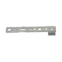 Пластина анкерная Elementis (поворотная) для профиля REHAU,Ditex,TROCAL 150 мм (ширина захвата по внешним краям, 42.5 мм,толщина 1,4 мм), 10 шт
