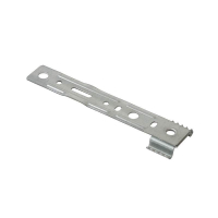 Пластина анкерная поворотная 150 мм для Rehau, Ditex, Trocal, ширина захвата по внешним краям 42.5 мм, толщина 1.4 мм