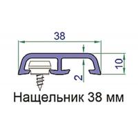 Наличник Exter 38х10 мм, белый