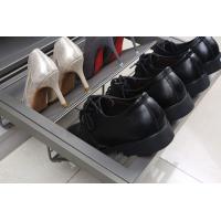 Выдвижная обувница в базу 700 мм, 564х420х160 (ШхГхВ), цвет серый
