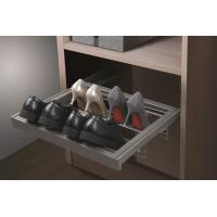 Выдвижная обувница в базу 800 мм, 764х420х160 (ШхГхВ), цвет серый