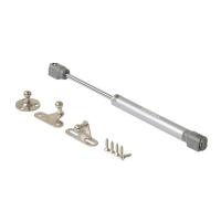 Газовый подъемник мебельный (газлифт) Firmax 120N 4,5-5,0 кг (комплект из 4 частей + саморезы)