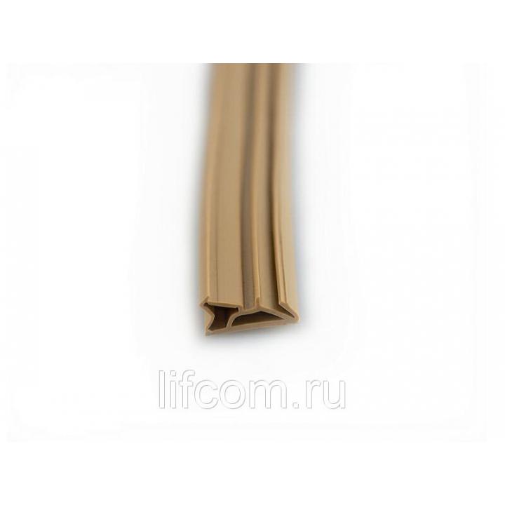 Уплотнитель для деревянных евроокон DEVENTER на фальц створки, ширина паза 4-5 мм, ТЭП, бежевый, 200 м