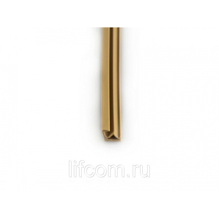 Уплотнитель для деревянных евроокон DEVENTER на наплав створки, ширина паза 3 мм, ТЭП, бежевый, 200 м