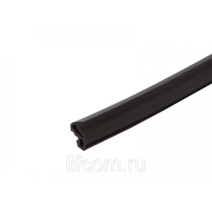 Уплотнитель для профиля KBE (228) (рама, створка), чёрный,
