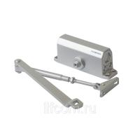 Доводчик дверной Elementis 602 EN2, серебро, с низкотемпературным маслом