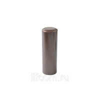 Накладка декоративная для ввертных петель, диаметр 20 мм, латунь, бронза