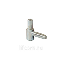 Петля ввертная, 2-штыревая, рамная часть, диаметр 13 мм, сталь, оцинкованный