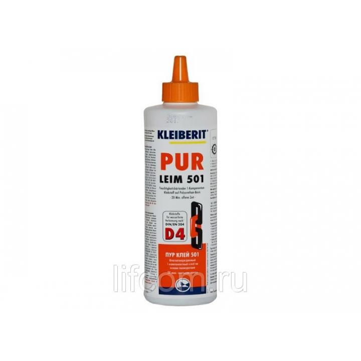 ПУР-клей Kleiberit 501.0 универсальный полиуретановый, D4, 1 кг