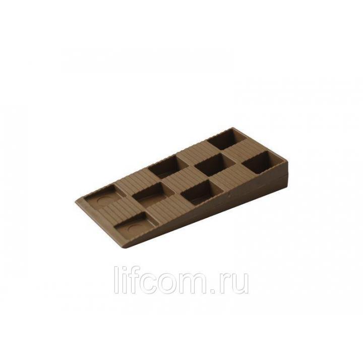 Клин монтажный Bauset, 91х43х15, 100 шт