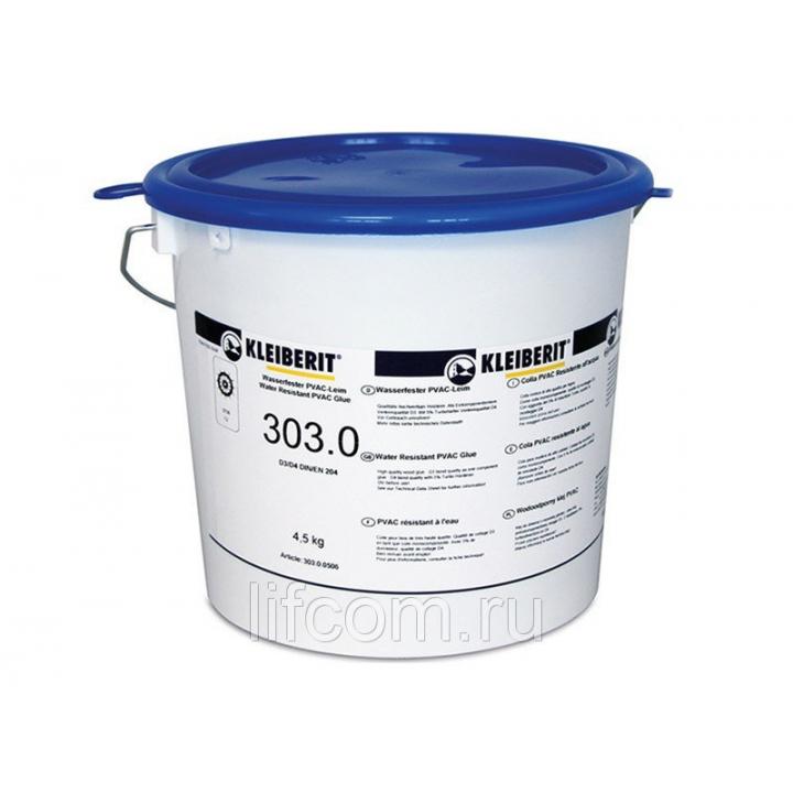Клей Kleiberit 303.0 для дерева поливинилацетатный D3/D4, 4.5 кг