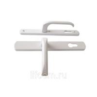 Гарнитур нажимной Elementis DENIZ подпружиненный 35/92, белый RAL9016