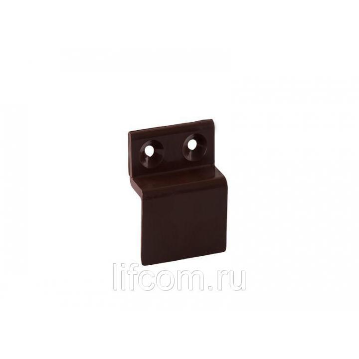 Кронштейн Bauset ABS 10мм для МС нижний коричневый