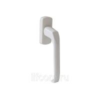 Гарнитур балконный узкий алюминиевый, белый RAL9016