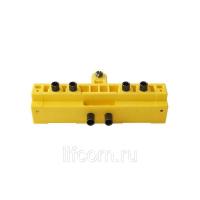 Шаблон сверлильный для ввертных петель, диаметр 14/16 мм, для дверей с наплавом