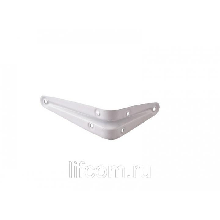 Кронштейн настенный ELEMENTIS для подоконника, 100х75 мм