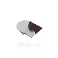 Накладка декоративная для скрытых петель, 120x30 мм, алюминий, бронза