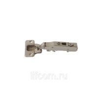 Петля для накладных дверей Firmax Click-on Soft-Close, угол открывания 100°, 48мм