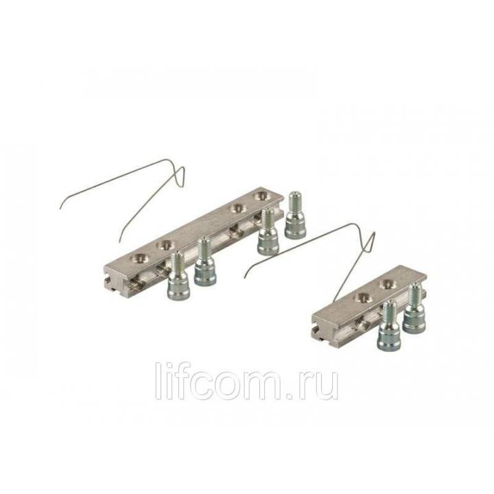 Комплект закладных пластин для крепления 3-х секционных петль DOMINA NEW, 0520100001