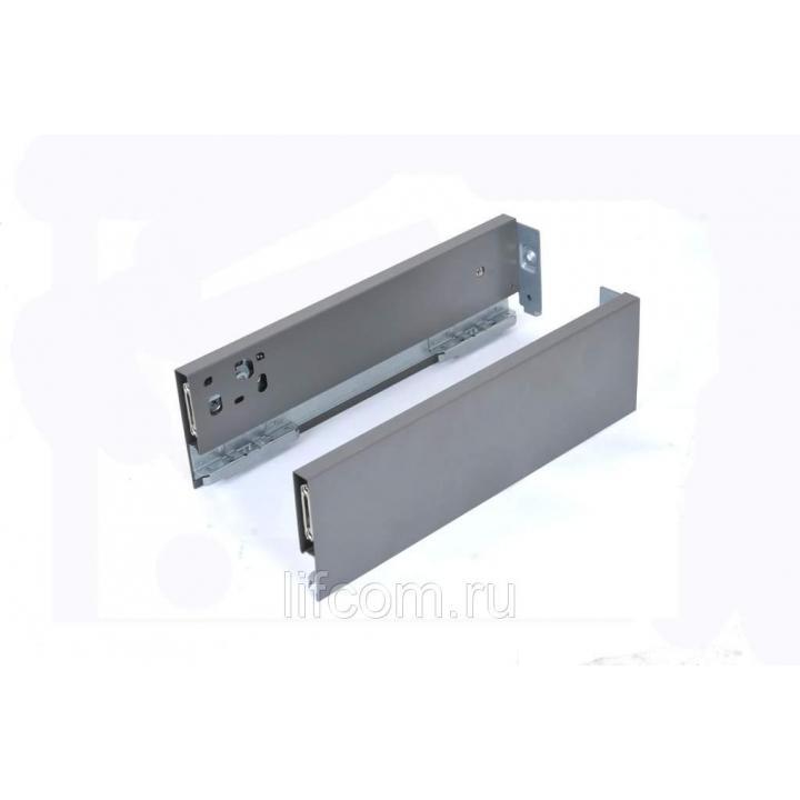 Комплект боковин Firmax высотой 89 мм длина 300 мм (левая, правая) для ящика Slimline, антрацит
