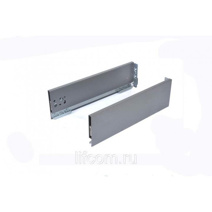 Комплект боковин Firmax высотой 121 мм длина 350 мм (левая, правая) для ящика Slimline, антрацит