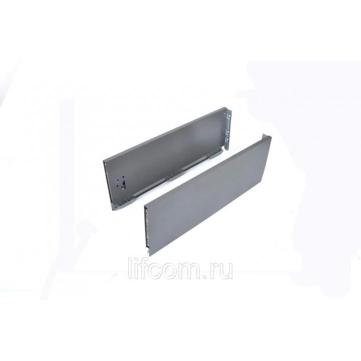 Комплект боковин Firmax высотой 185 мм длина 350 мм (левая, правая) для ящика Slimline, антрацит