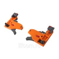 Комплект направляющих Soft-Close скрытого монтажа Firmax 3D Control L=400мм, полного выдвижения, для ЛДСП 16мм