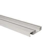 FM409 Направляющая верхняя, накладной монтаж, серебро, L=3000 мм, FIRMAX.