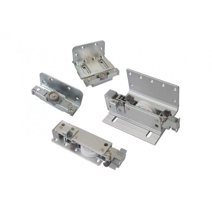 FM602 Комплект накладных роликов и доводчиков на 3 двери, FIRMAX.