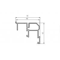 FM602 Направляющая нижняя, накладной монтаж, серебро, L=3000 мм, FIRMAX.