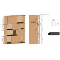 FM310 Комплект накладных роликов и доводчиков на 1 дверь, FIRMAX.