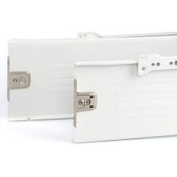 Боковины Firmax с роликовыми направляющими, H=150 мм, L=500мм, белый RAL9003, (4 части)
