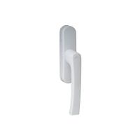 Ручка для алюминиевых окон, белая RAL9016 R07.2