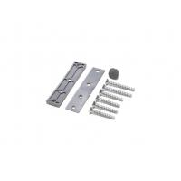 Петля дверная AT27 для дверей массой до 120 кг с высотой наплава 16.5-20 (24.5) мм, серебристый F1
