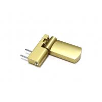 Петля дверная AT27 для дверей массой до 120 кг с высотой наплава 16.5-20 (24.5) мм, золото F3