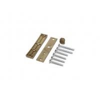 Петля дверная AT27 для дверей массой до 120 кг с высотой наплава 16.5-20 (24.5) мм, бронза F4