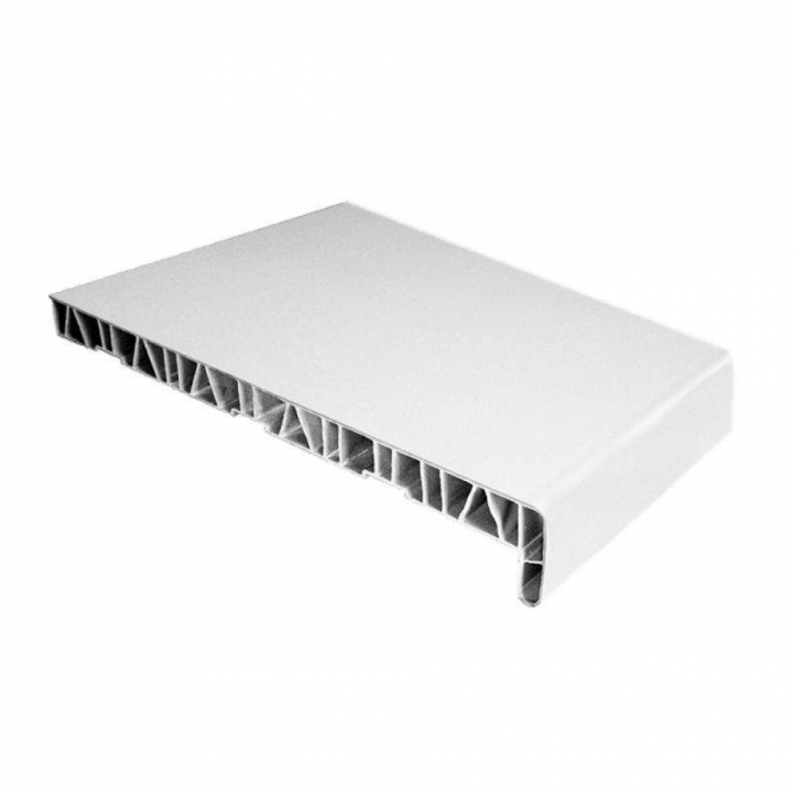 Подоконник пластиковый АНВ-40,100 мм, белый, длина 50 см.
