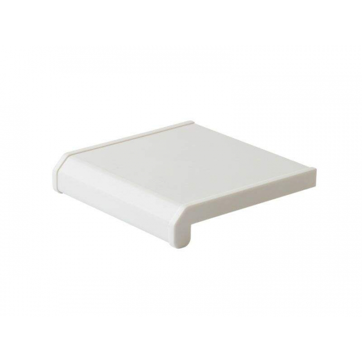 Подоконник пластиковый LUX-40 /200, белый