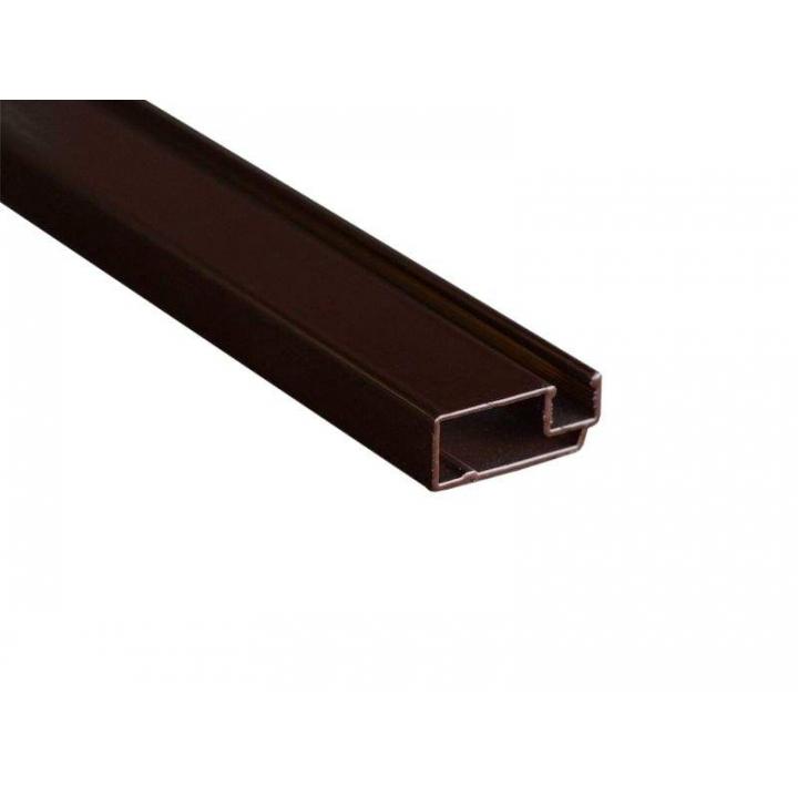 Профиль москитной сетки МС СТАН 10х25 основной коричневый, 6 м