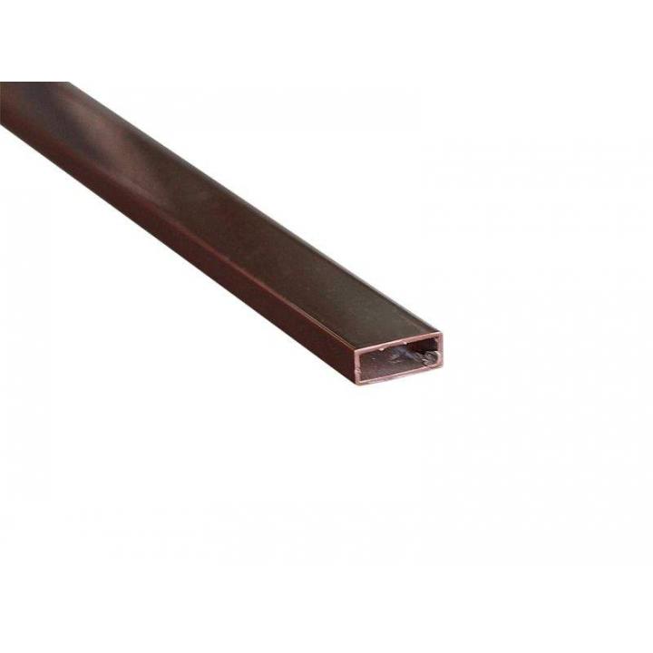 Профиль москитной сетки МС СТАН 8х20 поперечный, коричневый, 6 м