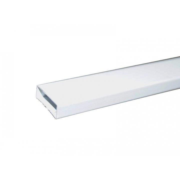 Профиль москитной сетки МС СТАН 8х20 поперечный, белый, 6 м
