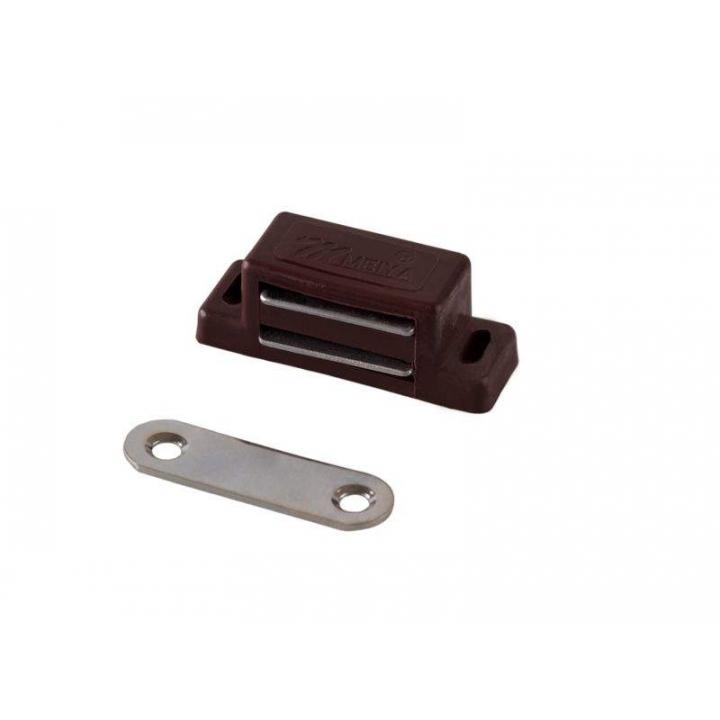 Защелка магнитная для МС, коричневая