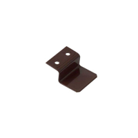 Кронштейн металлический 10 мм для МС верхний коричневый, 100 шт.