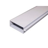 Профиль москитной сетки рамный 52x20 мм, белый, 5.8 м