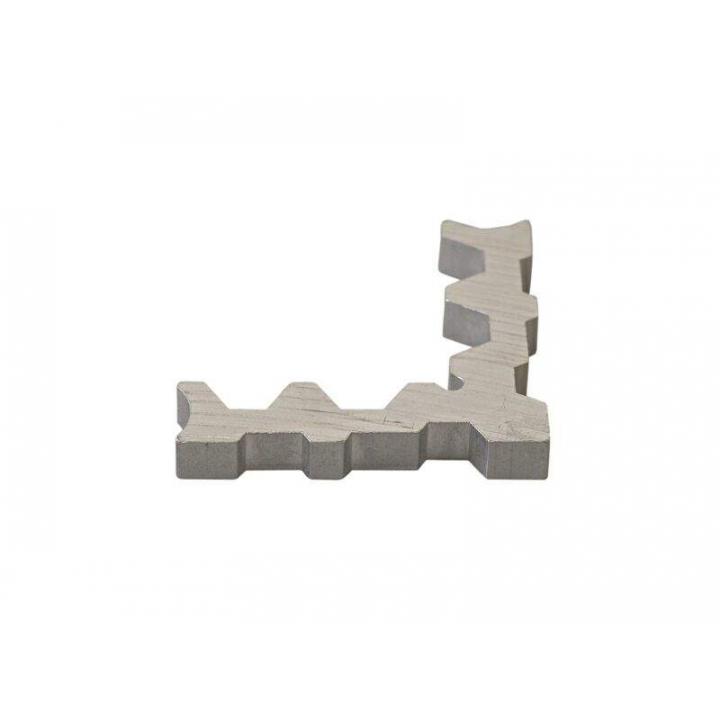 Уголок внутренний для москитного профиля МС-БАЗА алюминиевый