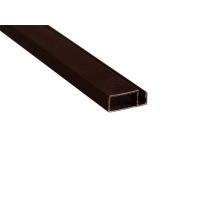 Профиль москитной сетки основной коричневый 10х25 мм МС-БАЗА, 6 м.