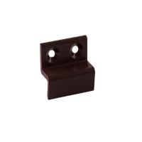 Кронштейн металлический 10 мм для МС нижний коричневый, 100 шт.