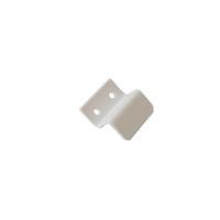 Кронштейн металлический 10 мм для МС нижний белый, 100 шт.